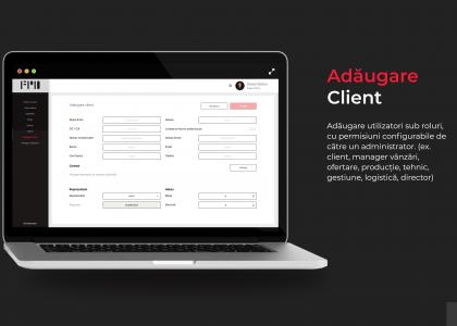 adaugare client